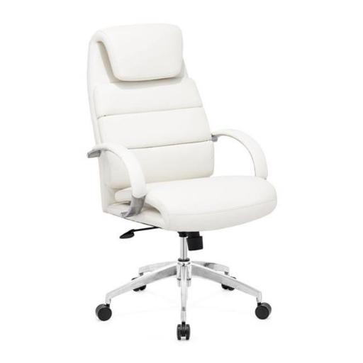 Lider Comfort Zuo 205316 Lider Comfort Office Chair White
