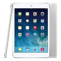 "Apple iPad Air 2 9.7"" WiFi + Cellular 64GB Tablet - White & Silver - MH2N2LL/A"