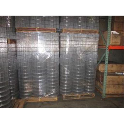 Fencer Wire 6 x 100 ft. 12.5 Gauge Welded Wire Fence, 2 x 4 in. Mesh