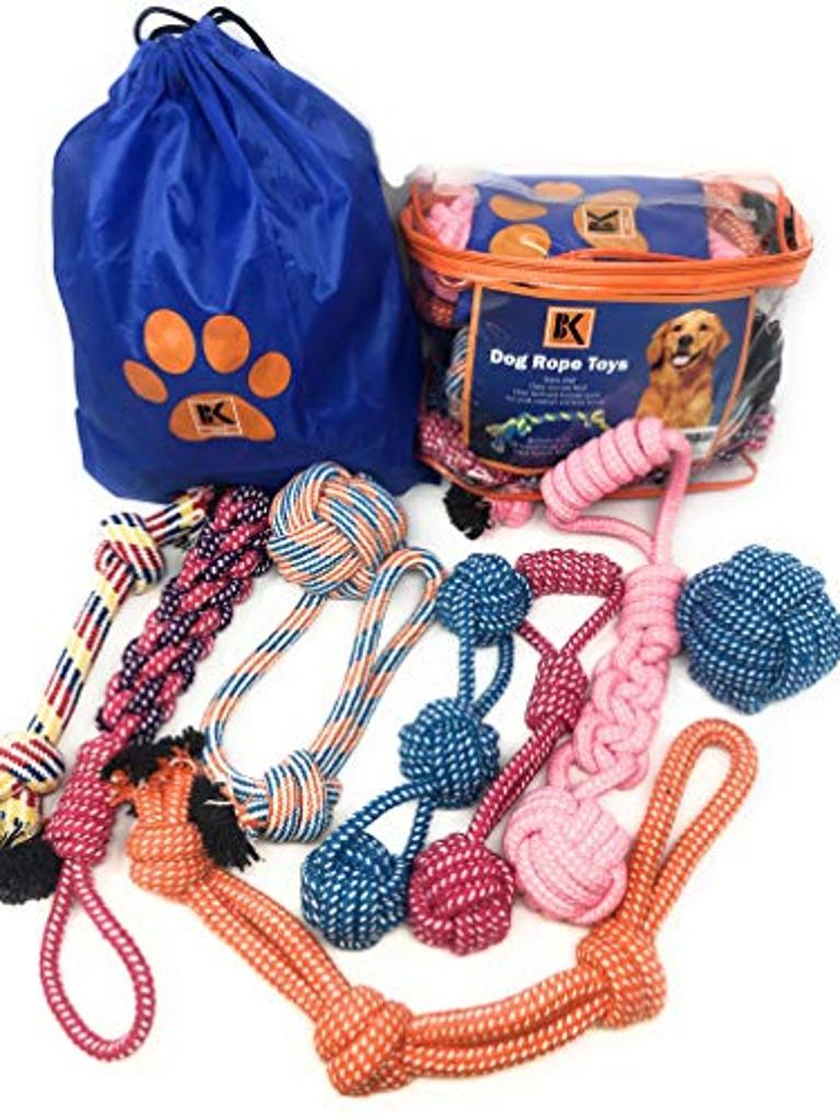 Dog Toys - 8 Extra Large Dog Rope Toys for Medium and Large Dogs