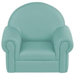 Early Childhood Resources ELR-15654-TQ Soft Zone Little Lux Toddler Chair, Turquoise