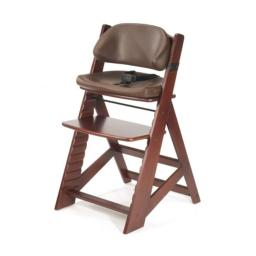 Keekaroo 0055215KR-0001 Height Right KIDS Chair Mahogany with Chocolate Comfort Cushions