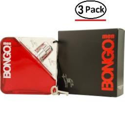 BONGO by Iconix EDT SPRAY 3.4 OZ (Package Of 3)