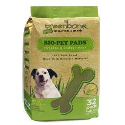 Greenbone Plastic Disposable Pet Waste Pads 32 pk - Case Of: 1; Each Pack Qty: 1;