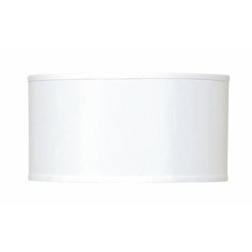 Cal LightingSH-1237 Drum Hardback Fabric Lamp Shade