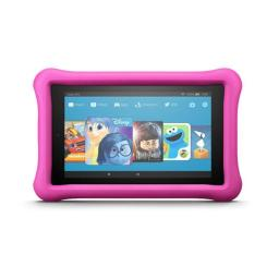 Amazon B01J90MOVY 7 in. 16GB Fire Kids Edition Tablet, Pink - 7th Gen