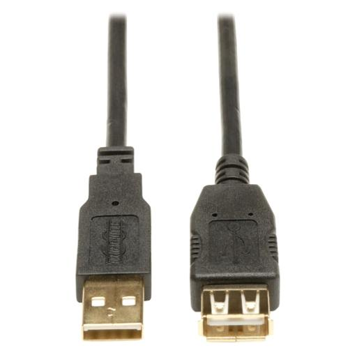 Tripp lite u024-003 3ft usb extension cable m/f