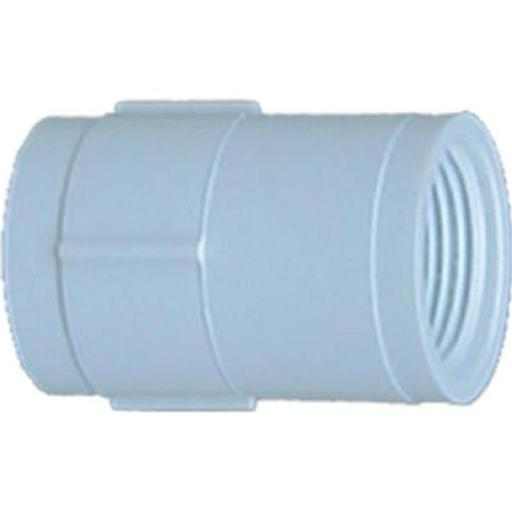 30127 0.75 in. Female Iron Pipe x Female Iron Pipe Coupling - Pack Of 10