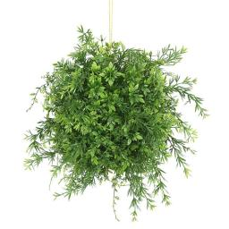 Vickerman FF170501 8 in. Mini Bamboo Leaf Ball
