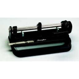 Swingline 023306 Swingline 2-3 Hole Heavy Duty Punch With Lever Handle, 0.28 In. - 32 Sheets, Black