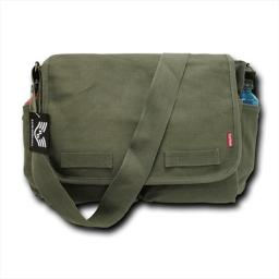 Rapid Dominance R31-WDL Classic Military Messenger Bag, Woodland