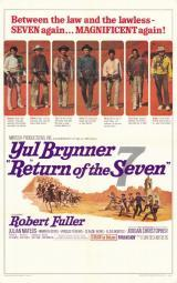 Return of the Magnificent Seven Movie Poster (11 x 17) MOVIE0198