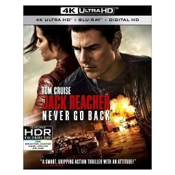 Jack reacher 2-never go back (blu-ray/4kuhd/mast/ultraviolet) BR59183416