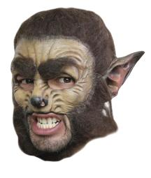 Wolf Dlx Chinless Adult Mask TB27525
