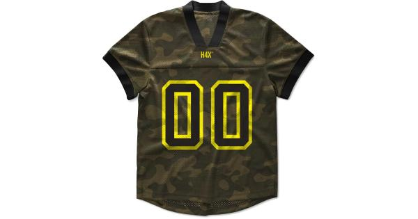 H4X Mens Camouflage Mesh T-Shirt