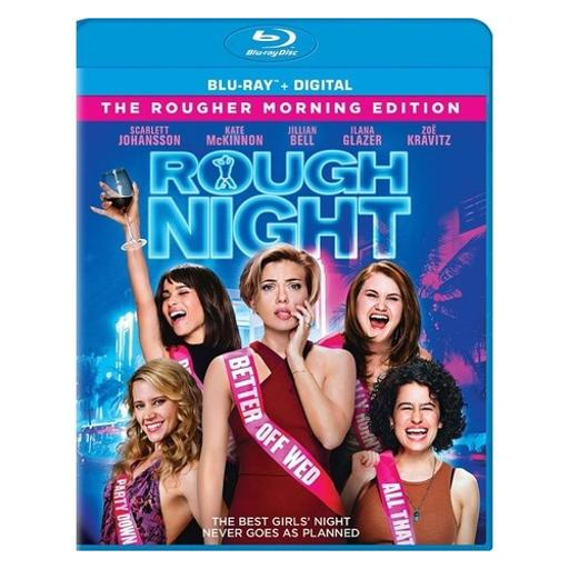 Rough night (blu ray w/ultraviolet) G9M8OLZ5Q3AFA2TT