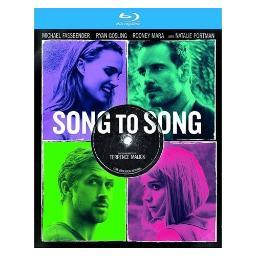 Song to song (blu ray) (ws/2.39/eng sdh/latin american span) BR94187394