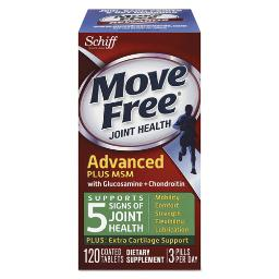 Move Free Advanced Plus Msm Joint Health Tablet 120 Count   Total Quantity: 1
