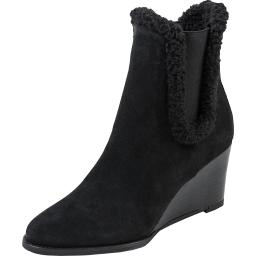Andre Assous Womens Sasha Suede Dress Booties