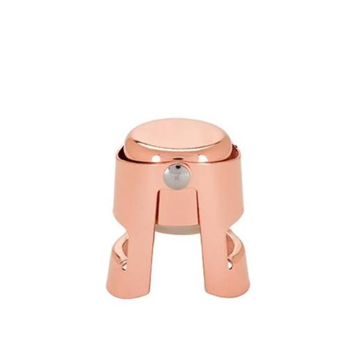Twine 4611 Old Kentucky Home Copper Champagne Stopper, Copper