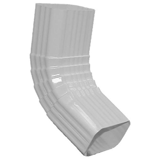 Genova Products 2in. x 3in. White Elbow Style A AW201A
