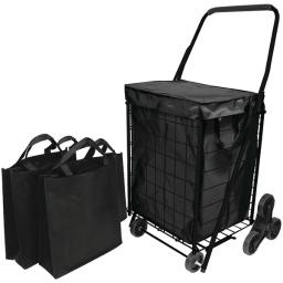 Helping hand(r) fq39908bk stair climb cart with liner & 2 bags