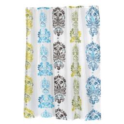 Carnation Home Fashions FSC-OLI Olivia Fabric Shower Curtain