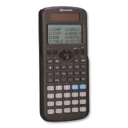 Advanced Scientific Calculator 417 Functions 15-Digit LCD Four Display Lines | Total Quantity: 1