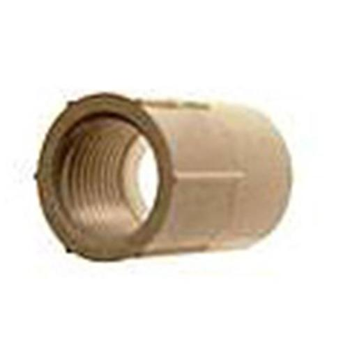 Genova Products .50in. PVC Sch. 40 Female Adapters 30305 - Pack of 10