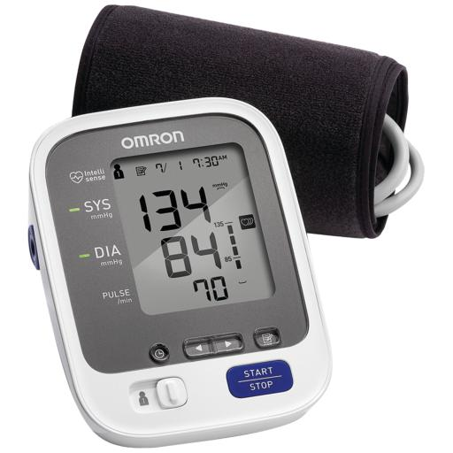 Omron(r) bp761 7 series advanced-accuracy upper arm blood pressure monitor with bluetooth(r) connectivity