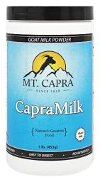 Mt. Capra Products - CapraMilk Nonfat Goat Milk Powder