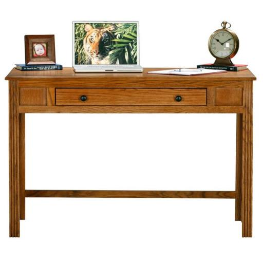 Eagle Furniture 93203NGDK 32 x 47.5 x 23.75 in. Oak Ridge Writing Desk, Dark Oak
