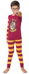 Harry Potter Big Kids Gryffindor House Crest' Costume Pajama Set