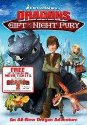 Dragons-gift of the night fury w/movie cash (dvd) (ws)-nla D03339D
