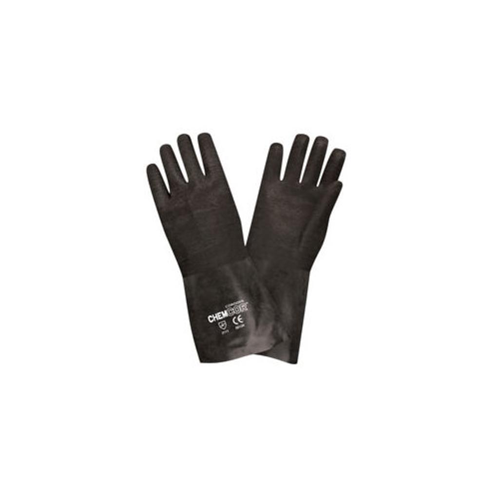 Cordova 5812rl 12 neoprene rough coated glove  large