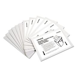 """Shredder Lubricant Sheets 5.5"""" X 2.8"""" 24 Per Pack 