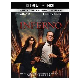 Inferno (blu-ray/4k-uhd/ultraviolet combo pack) BR47415