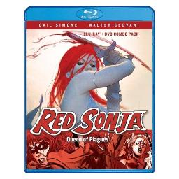 Red sonja-queen of plagues (blu ray/dvd combo) (ws) BRSF16566