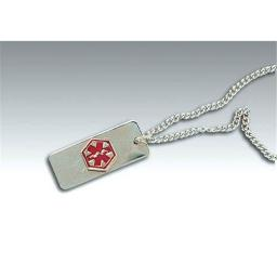 Complete Medical 2542CN Medical Identification Jewelry - Necklace - Heart