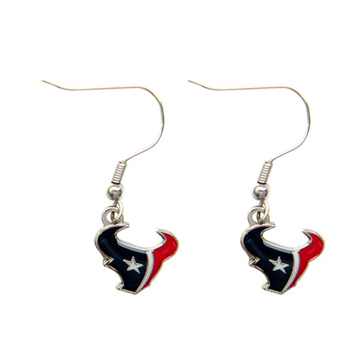 NFL Houston Texans Logo Dangle Earring Set Charm Gift