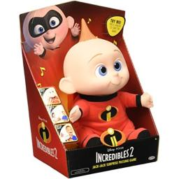 Disney Pixar Incredibles 2 - Jack-Jack Surprise Passing Game - Press Jack-Jack Emblem to Start The Music Pass Him Around!