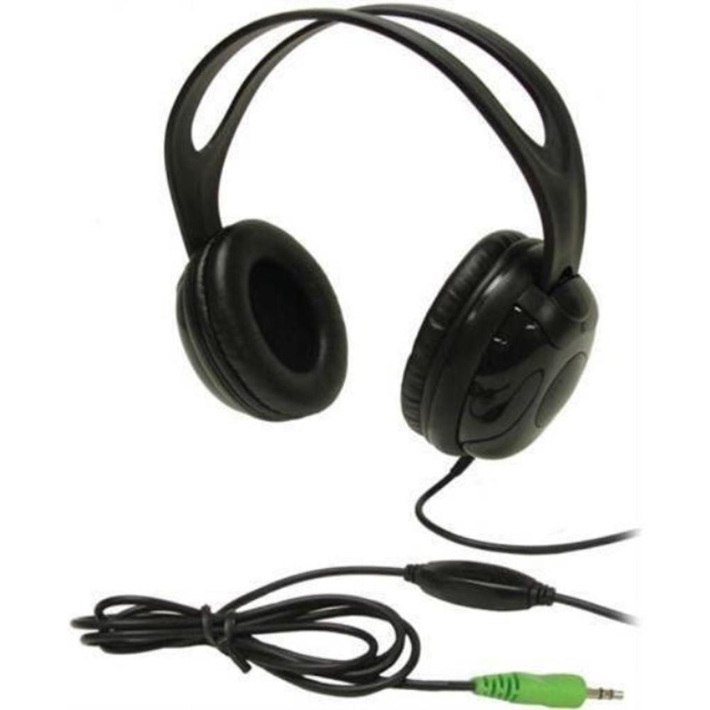 Andrea Electronics Edu-375 High Fidelity Circumaural Stereo Headphone w/ In-line Volume Control (AndreaEDU-375 )