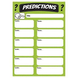 Ashley productions predictions large magnetic chart 70006
