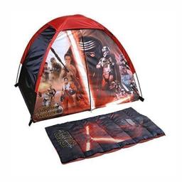 Star Wars: Episode 7 The Force Awakens Kids Camp Kit - Play Tent and Sleeping Bag