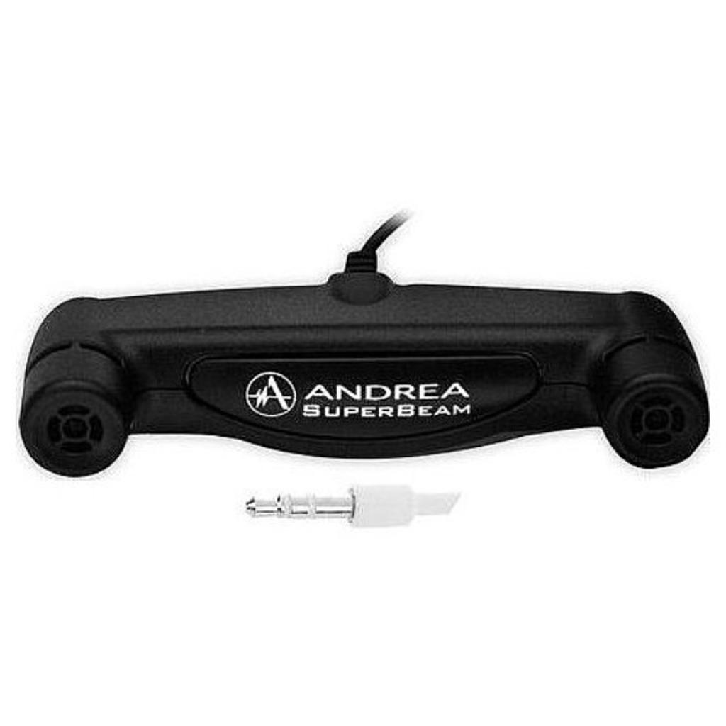Andrea C1-1019800-1 Model ARRAY-2S SoundMAX Superbeam Array Microphone with 35 mm Connector Two Unidirectional Microphones with Individual Channels to a Stereo Output