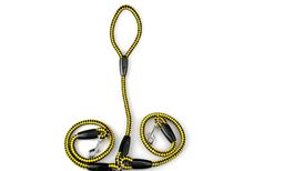 Premium Good Quality Durable Dual Dog Leash (Yellow) 618538938827