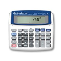 Calculated Industries 8305 KitchenCalc PRO Recipe Conversion and Culinary Math Calculator with 2 Digital Timers for Chefs, Culinary Students, Home Cooks, Bakers, Brewers and BBQers   Recipe Scaling   Menu Planning   Portion Sizing