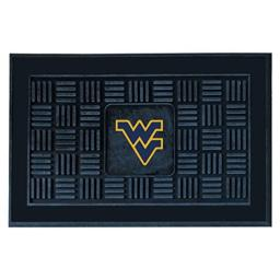 FANMATS NCAA West Virginia University Mountaineers Vinyl Door Mat