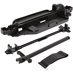 HPI 1/10 RS4 Sport 3 Drift * CHASSIS, CENTER DRIVE SHAFT COVERS & BATTERY STRAP