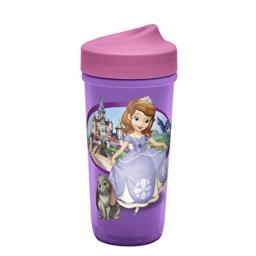 Zak Designs Sofia The First Low Profile Cup, Sofia The First, 3 Piece Set